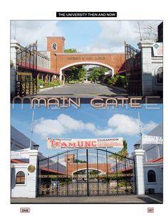 UNC gate Gate, University, Tours, Mansions, House Styles, Portal, Manor Houses, Villas, Mansion