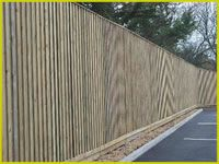 Our acoustic fencing solutions can be provided and insattled by Metalwood. They reduce noise pollution in a wide range of environments such as from car or airplane noise. Sound Wall, Noise Pollution, Acoustic, Fence, Environment, Wood, Walls, Woodwind Instrument, Timber Wood