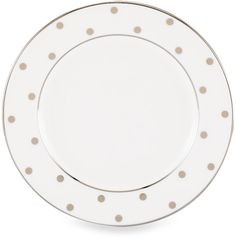 kate spade new york Larabee Road Platinum Bread and Butter Plate
