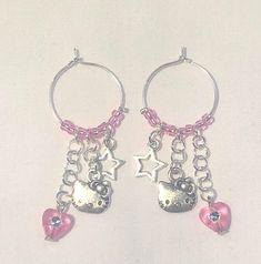 Ear Jewelry, Cute Jewelry, Jewelery, Jewelry Accessories, Jewelry Making, Simple Jewelry, Bridal Jewelry, Cute Earrings, Drop Earrings