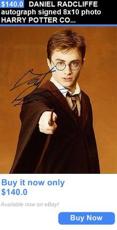 Celebrity Autographs: Daniel Radcliffe Autograph Signed 8X10 Photo Harry Potter Coa BUY IT NOW ONLY: $140.0