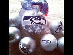 ▶ Easy DIY NFL Christmas Ornament Seattle Seahawks - YouTube