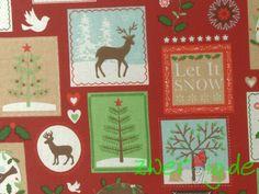 Weiteres - Dekostoff Winter / Weihnachtsstoff - ein Designerstück von zwergigDE…