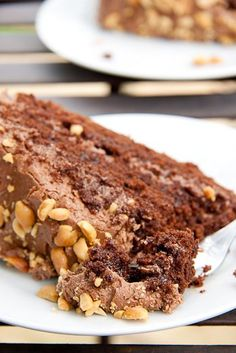 Peanut Butter Chocolate Cake - Simply Delicious— Simply Delicious