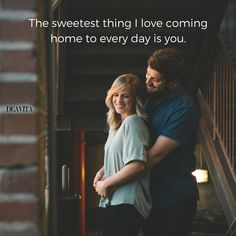 30 sweet love quotes for him and her with beautiful photos - Decoration 4 Sweet Quotes For Him, Love Is Sweet, Love Her, Les Sentiments, Coming Home, Belle Photo, Photo S, Me Quotes, Frases