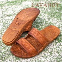 289129c5a6bb Always designed in Hawaii at Lavahut! Light Brown Jandals® - Pali Hawaii  Sandals