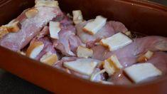 Pečeme v rozehřáté troubě na 160 stupňů po dobu 300 minut. V průběhu pečení můžeme teplotu postupně zvyšovat na 180 až 190 stupňů   foto: Martin Čuřík Pork, Meat, Kale Stir Fry, Pork Chops