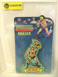 (TAS000199) - Masters of the Universe Eraser - He-Man
