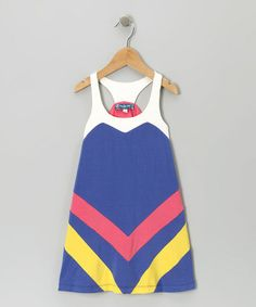 Take a look at this Royal Colorblock Dress by Truly Me on #zulily today!