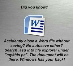 did you know? Life Hacks Computer, Computer Basics, Computer Help, Computer Tips, Computer Keyboard, Technology Hacks, Computer Technology, Simple Life Hacks, Useful Life Hacks