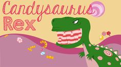 Candysaurus Rex | Fun Ninja Youth Group Games