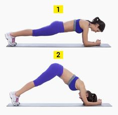 By stiffly holding your body in a plank position you strengthen your core which are the muscles connecting the lower and upper body. Plank exercises also help to tone your abs, … Six Pack Abs Workout, Workout Plan For Women, Plank Workout, Abs Workout For Women, Workout Plans, Power Yoga Poses, Muffin Top Exercises, Yoga Poses For Beginners, Do Exercise