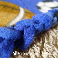 alternative to tie blankets Braided Fleece Blanket Tutorial c15cfa73e