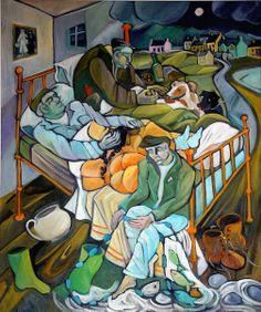 Garcian Mounted Painting Print by Syra Larkin Irish Contemporary Artist Irish Art, The Brethren, Art Google, Contemporary Artists, Painting Prints, Mythology, Brother, Art Pieces, Ireland