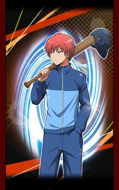 Assassination Classroom | Ansatsu Kyoushitsu | Game Cards | Akabane Karma