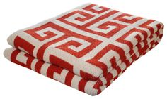 throws made from recycled cotton | Happy Habitat