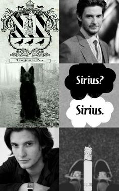Modern young Sirius Black. Made on my own <3