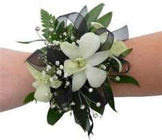 And, Corsages For Prom And Boutonniere Boutonnieres, Prom Corsage And Boutonniere, Flower Corsage, Corsage Wedding, Wedding Bouquets, White Corsage, Homecoming Flowers, Homecoming Corsage, Prom Flowers