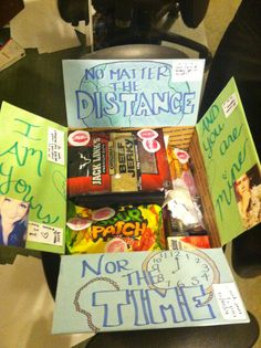 No matter the distance... nor the time... I am yours... and you are mine! Deployment Care Package