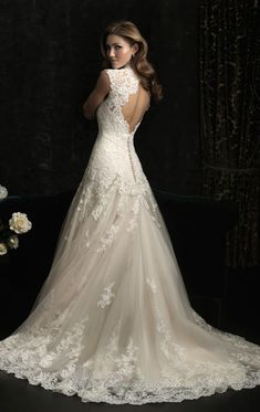 Allure bridal | allure organza dress by allure bridals item 8965 by allure bridals ...