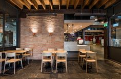 Designed by the talented Sydney based architectural firm - Luchetti Krelle, comes the newly renovated Toga lobby cafe. This fit out featured Gather Co's exclusive Malina Antique European Terracotta. Terracotta, Repurposed, Architecture Design, Architectural Firm, Interior Design, Antiques, Hospitality, Sydney