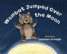 'Hey diddle diddle, the roo and the fiddle, the wombat jumped over the moon. The others did laugh to see such a sight, and they shared their cake with a spoon.' Wombat and his mates are having a bush picnic but they've almost run out of cake! There's only one piece left.