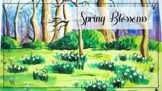 #snowdrops #spring #watercolors