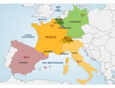 Les frontières de la France