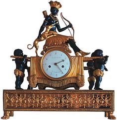 Clock from The State Blue Drawing Room of The Catherine Palace, St. Petersburg Russia