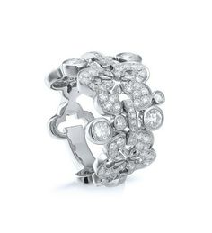 Boodles Blossom Signature White Gold Diamond Ring