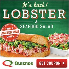 Quiznos: $1 off coupon!   The Frugal Mrs. Jones