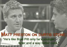Masterchef Australia Curtis Stone Recipes, Masterchef Australia, Australia 2018, Master Chef, Chef Recipes, Fun Cooking, Brad Pitt, Chefs, Magazine