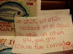 The Slippery Fish song en espanol (una sardina)