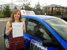 KISS Driving Instructor Martin Adams in Farnborough, Hampshire - Kirsty | KISS Drive