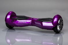 Purple & Black Two Wheeled Self Balancing Hoverboard (Pro)