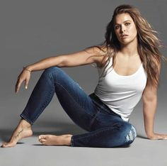 buffalo jeans - UFC fighter Ronda Rousey is showing the world her sultry side for the Buffalo Jeans Fall 2016 ad campaign. The gritty mixed-martial arts athlete is. Aquarius, Rhonda Rousy, Ronda Rousey Wallpaper, Ronda Jean Rousey, Rowdy Ronda, Buffalo Jeans, Ufc Women, Wwe Wallpaper, Fall Jeans