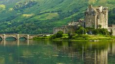 Dornie, Scotland - visited Scotland but didn't get to see all that was on our list including this castle. Must go back!