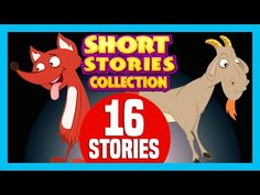 SHORT STORY for CHILDREN (16 Moral Stories) | The Fox and The Goat & more - YouTube Dexter Cartoon, Goat Cartoon, Short Moral Stories, Short Stories For Kids, Indian Nursery, Ten Little Indians, Dolch Sight Words, Morals, Nursery Rhymes