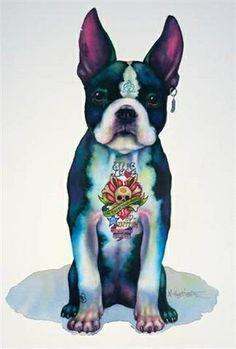 Fred Zeppelin (watercolour) Nick Eggleston