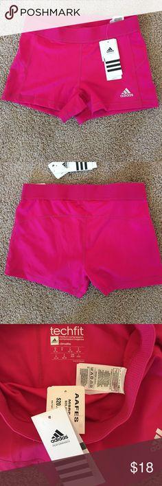 Adidas compression shorts Hot pink compression shorts Adidas Shorts