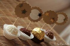 Jours de Bonheur: {DIY} Marque-places gourmands...