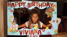 Moana Happy Birthday Photo Board