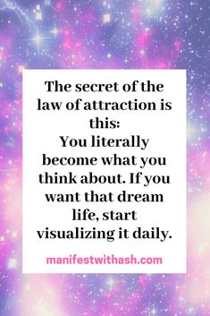 The Law of Attraction has worked for many people who sought to gain financial freedom. It has helped many to experience fuller lives through better relationships. The Law of Attraction can also have a. Manifestation Law Of Attraction, Law Of Attraction Affirmations, Love Affirmations, Motivational Affirmations, Manifestation Journal, Inspiring Quotes About Life, Inspirational Quotes, Law Of Attraction Love, Abraham Hicks Quotes
