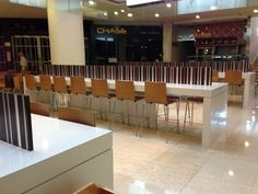 Chatswood Chase - Food Court - Bench Seating