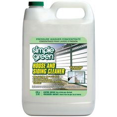 Simple Green 128 oz. House and Siding Cleaner Pressure Washer Concentrate-2300000118201 - The Home Depot