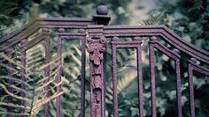 Cancello arrugginito
