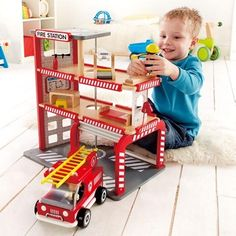 Fire Station | Hape Toys