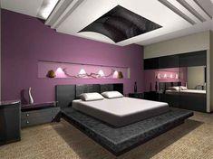 Luxe Paarse Slaapkamer : Beste afbeeldingen van paarse slaapkamers purple rooms