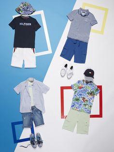 Tommy Hilfiger Baby-M/ädchen Kleid Essential Graphic Knit Dress S//S