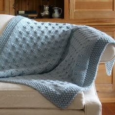 Belleview Blanket knitting pattern